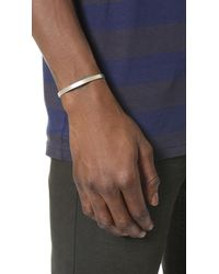 Le Gramme - Metallic Le 15 Grammes Brushed Silver Cuff for Men - Lyst