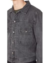 Saturdays NYC - Black Ray Denim Jacket for Men - Lyst