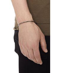 Miansai - Metallic Thin Screw Cuff for Men - Lyst