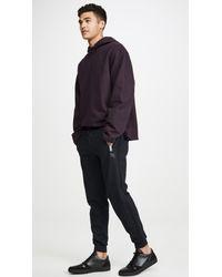 COACH Black Track Pants for men