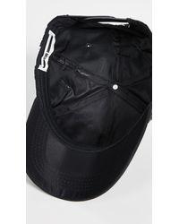 McQ Alexander McQueen Black Swallow Baseball Cap for men