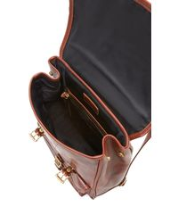 JW Hulme Brown Continental Backpack for men