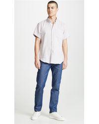 Naked & Famous Multicolor Easy Shirt - Double Weave Gauze for men