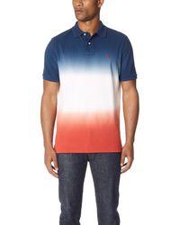 Polo Ralph Lauren Multicolor Dip Dye Polo Shirt for men