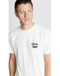 Stussy Natural Dice Pig Dyed Tee for men