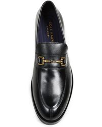 Cole Haan - Black Henry Grand Bit Loafers for Men - Lyst