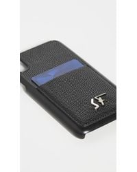 Ferragamo Black Signature Iphone X / Xs Case for men
