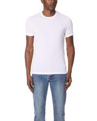 Calvin Klein - White Light Short Sleeve Crew Neck Tee for Men - Lyst