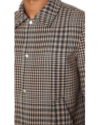 AMI Black Button Jacket for men