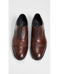 Allen Edmonds Brown Bond Street Cap Toe Shoes for men