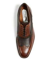 Kenneth Cole - Brown Surge Oxfords for Men - Lyst