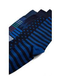 Paul Smith - Blue 3 Pack Socks for Men - Lyst