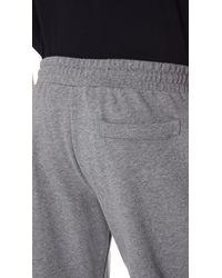 McQ Alexander McQueen Gray Rib Sweatpants for men
