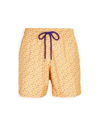 Vilebrequin Yellow Mahina Swim Trunks for men