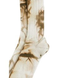 Anonymous Ism - Natural Uneven Dye Crew Socks for Men - Lyst