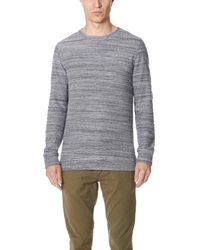 A.P.C. Gray Max Sweater for men