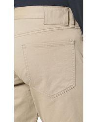 Vince Natural Essential 5 Pocket Soho Twill Jeans for men