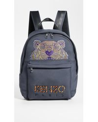 KENZO Multicolor Neon Tiger Rucksack for men