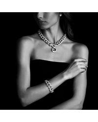 David Yurman - Pink Albion Pendant With Diamonds, 17mm Gemstone - Lyst