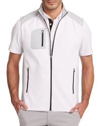 AG Green Label | White Loft Sport Vest for Men | Lyst