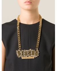 Versus Metallic '' Necklace