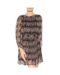 Étoile Isabel Marant Multicolor Sharla Floral-printed Silk Dress