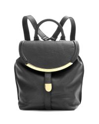 See By Chloé Black Lizzie Leather Backpack