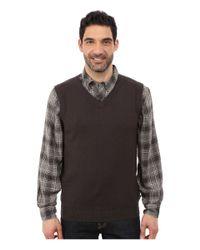 Woolrich - Black Highlands Vest for Men - Lyst