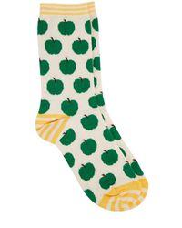 Oasis Green Apple Sock
