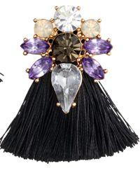 H&M | Black Earrings | Lyst
