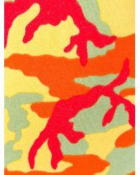 Moschino - Yellow Knitted Dress - Lyst