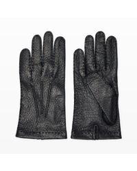 Club Monaco | Black Hestra Unlined Glove for Men | Lyst