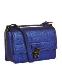 3.1 Phillip Lim | Blue Mini Pashli Messenger Bag | Lyst