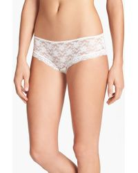 Free People | White Lace Hipster Briefs | Lyst