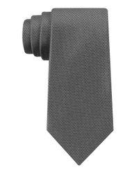 DKNY | Black Slim Fit Golden Island Silk Tie for Men | Lyst