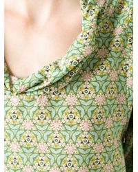 Societe Anonyme - Green Kaleidoscopic Print Blouse - Lyst