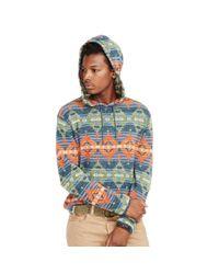 Denim & Supply Ralph Lauren - Blue Southwestern Cotton Hoodie for Men - Lyst