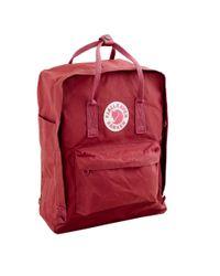 Fjallraven | Red Classic Kanken Backpack for Men | Lyst