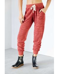 Project Social T Red Jogger Pant