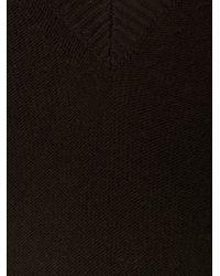 Chloé Black Wool and Cashmere-Blend Sweater Dress