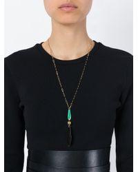 Isabel Marant - Blue 'colorado' Necklace - Lyst