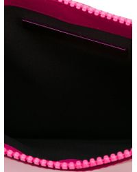 Christopher Kane | Pink Zipped Pouch Clutch | Lyst