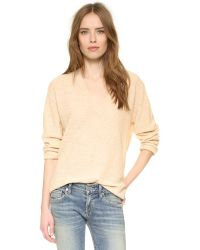 Zadig & Voltaire - Yellow Apple Pullover Sweater - Lyst