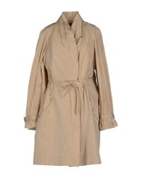 Alberta Ferretti - Natural Full-length Jacket - Lyst