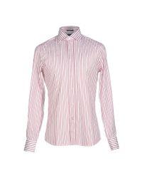 Guess Pink Shirt for men