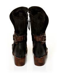 Moda In Pelle Black Besta Ankle Boots