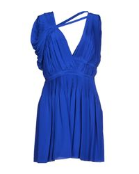 Vionnet Blue Short Dress