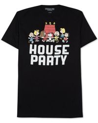 Jem | Black Peanuts House Party Tee for Men | Lyst