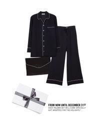 Equipment Black Avery Pajama Set