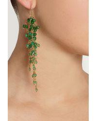 Rosantica - Green Zampillo Golddipped Agate Earrings - Lyst
